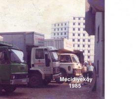 Şişli Mecidiyeköy 1985'de Çolakoğlu Nakliyat
