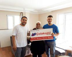 Beykoz'dan Karataş Ailesinin Evden Eve Nakliyat Memnuniyeti